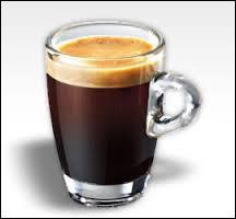 Durée de préparation allongée pour ce café plus riche en eau.