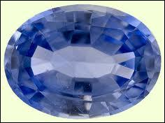 Le saphir bleu est :