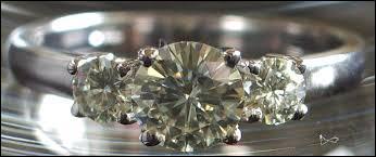 Belle imitation du diamant, voici la moissanite qui est :