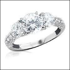 Toujours parmi les imitations du diamant le zirconia :