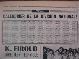 Quel était le premier nom de la Ligue 1 ?