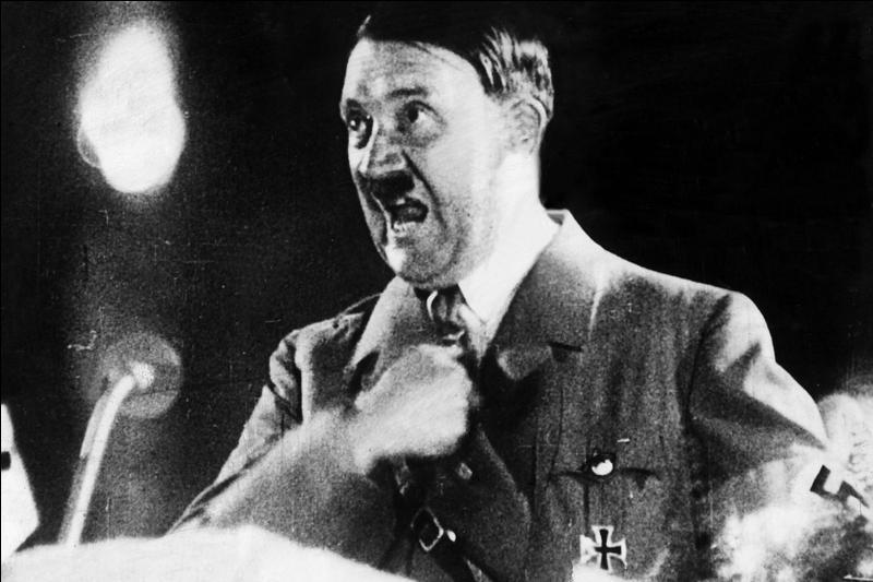 Cette horrible moustachu est coupable de plusieurs crimes comme le massacre de Juifs, de résistants ... Il a commis d'autres crimes et délits moins connus. À vous de les trouver !
