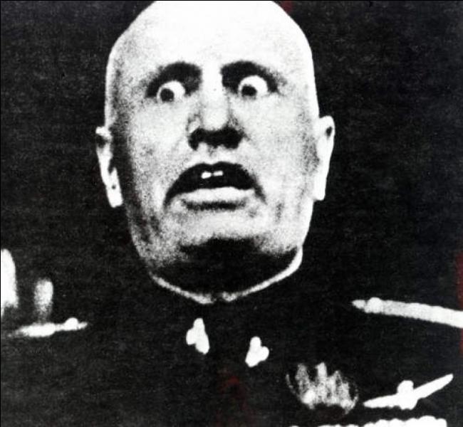 Il fut membre (et dirigeant) de plusieurs partis politiques comme le « Parti socialiste italien », le « Parti national fasciste » et le « Parti fasciste républicain ». Il se fit surnommé « le guide » dans son pays. Après la défaite militaire et le retournement d'alliance de son pays, sa fin fut brutale. Lui et sa maîtresse furent abattus par des résistants. Qui est-il ?