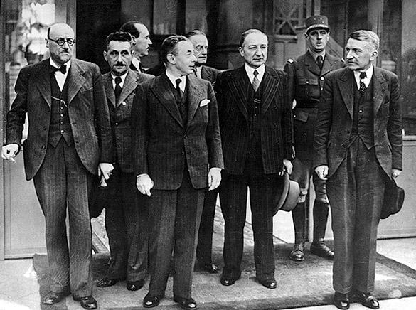 Quelques personnages de la 2de Guerre mondiale