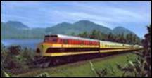 Quel pays d'Amérique peut se vanter d'avoir eu la première voie ferrée transcontinentale ?
