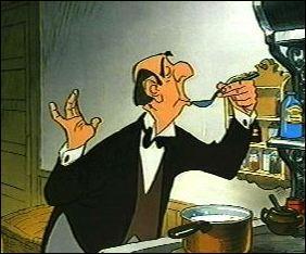 Dans quel dessin animé de Walt Disney peut-on voir Edgar le majordome ?