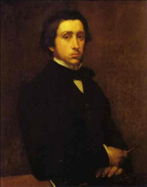 Quel thème est souvent représenté dans les tableaux du peintre impressionniste Edgar Degas ?