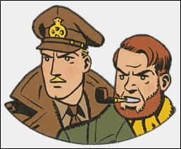 Qui sont ces deux héros de bande dessinée, créés par le dessinateur belge Edgar P Jacobs en 1946 ?
