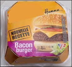 Quelle marque fabrique ce hamburger ?