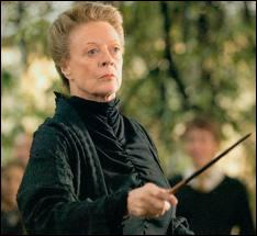Et si on parlait de la directrice des Gryffondor ? (Minerva Mc Gonagall) Que peut-on lui attribuer ?