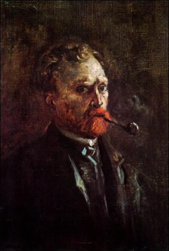 Qui a peint Auto-portrait à la pipe ?