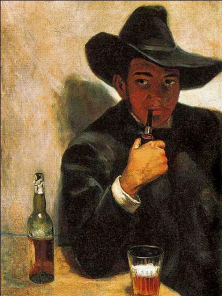 Qui a peint Autoportrait à la pipe ?