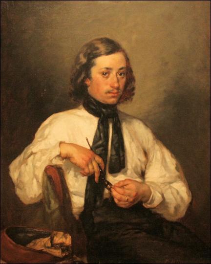 Qui a peint Portrait d'Amando Ono dit l'homme à la pipe ?