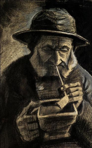 Qui a peint Pêcheur fumant la pipe ?