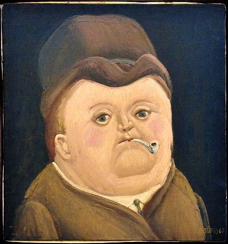 Qui a peint cet homme à la pipe ?