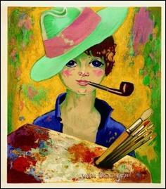 Qui a peint  Jean Marie avec Chapeau et pipe  ?