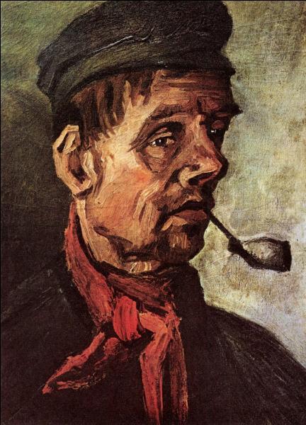 Qui a peint Tête de paysan avec une pipe ?