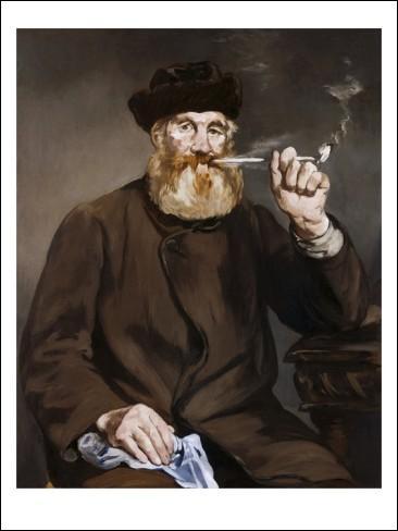 Qui a peint cet homme fumant la pipe ?