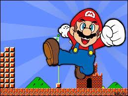 J'observe l'image et je vois : Mario avec son chapeau vert !