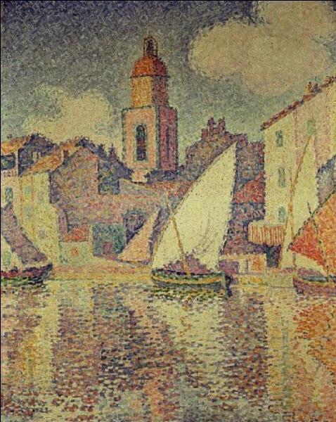 Qui a peint Clocktower St Tropez ?