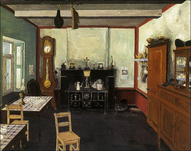 Qui a peint La cuisine ?