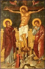 Jésus est-il représenté comme un dieu sur l'image ?