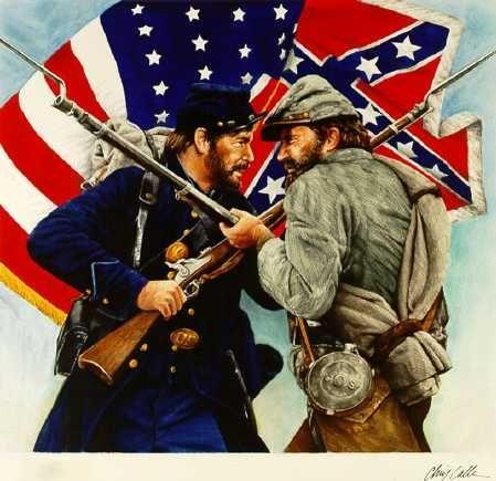 La guerre de Sécession aux États-Unis