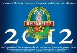 Les bières Akerbeltz (ambrée, blanche et blonde) sont des bières de fermentation haute. Où sont-elles brassées ?