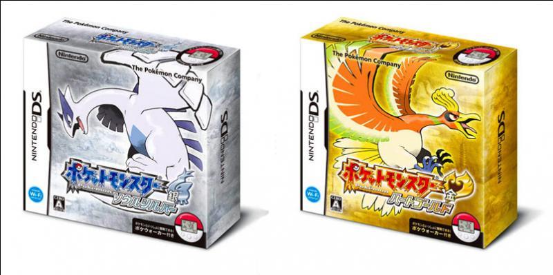 Quelle est la date de sortie des jeux  Pokémon Argent Soul Silver  et  Pokémon Or Heart Gold  en France ?