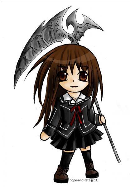 De quel manga vient cette chibi vampire de sang pur et comment s'appelle-t-elle ?