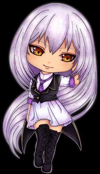 De quel manga vient cette jolie jeune fille chibi et comment s'appelle-t-elle ?
