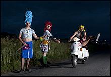 Explosion de caca  est un groupe de rap belge.