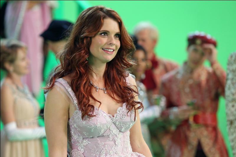 Voici une très jolie princesse qui a bien sympathisé avec Belle :