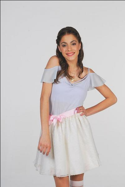 Qui est la meilleure amie de Violetta dans  Violetta  ?