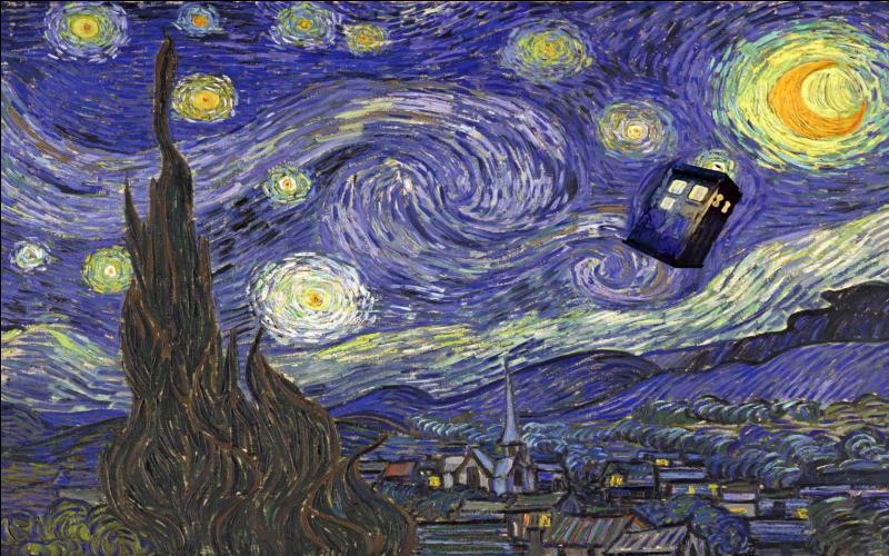 Quel peintre célèbre Amy Pond a-t-elle connu ?