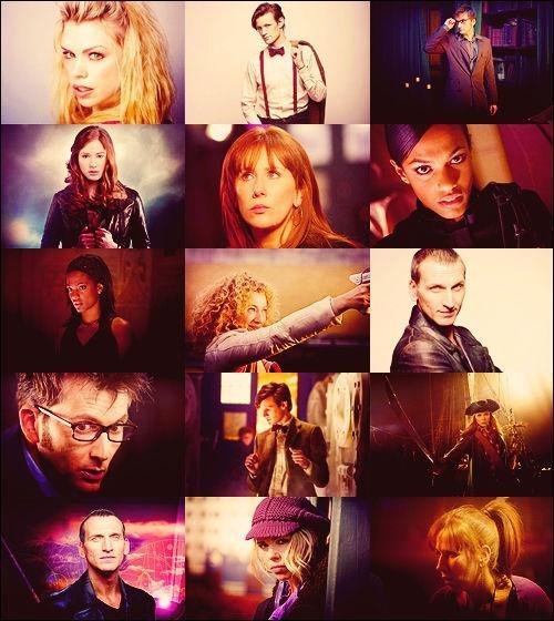 Qui sont les deux grands amours du Doctor depuis 2005 ?