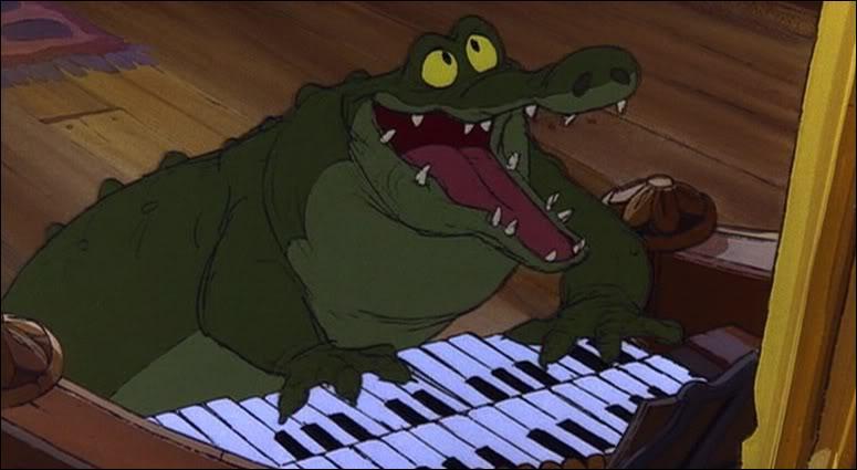 Dans  Bernard et Bianca , comment s'appellent les deux crocodiles de Médusa ?