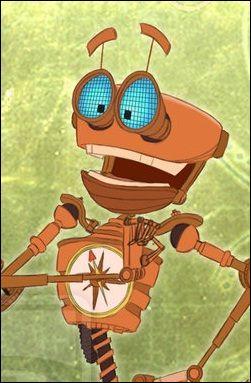 Dans  La Planète au trésor , quelle est la partie manquante de Ben le robot ?