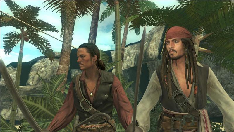 Dans  Pirates des Caraïbes , comment font Jack et Will pour passer inaperçus dans l'eau ?
