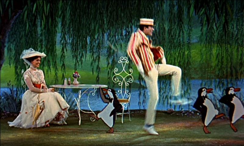 Dans  Mary Poppins , combien de pingouins dansent avec Bert ?