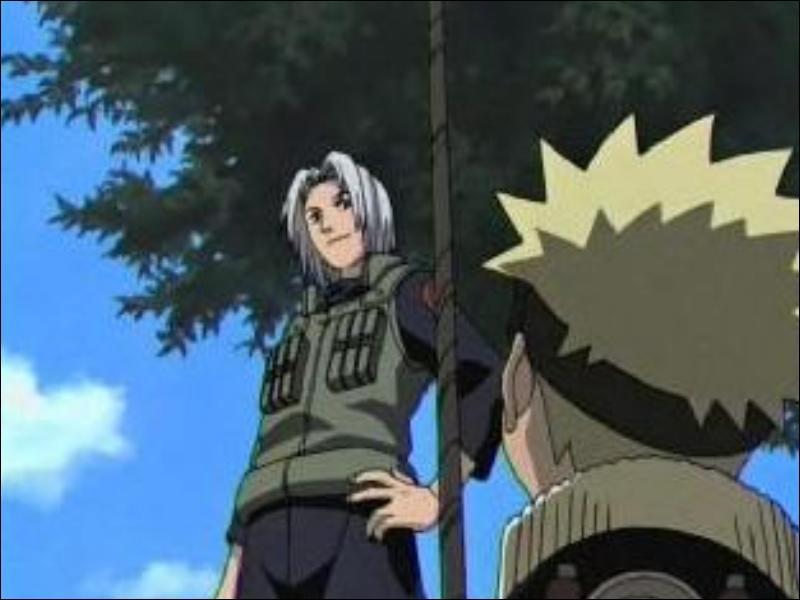 Naruto est donc recalé, peu après, l'un des jury... .