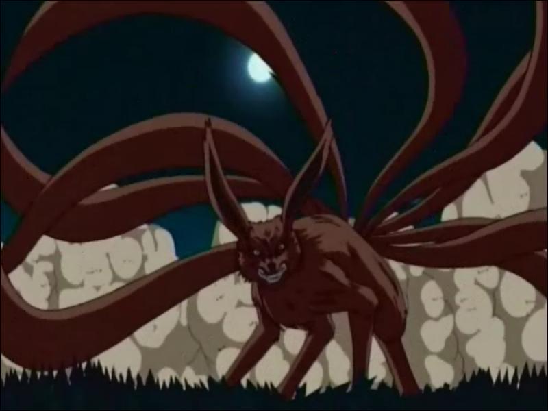 Il existait jadis un démon renard à neuf queues. Comment se nommait-il ?