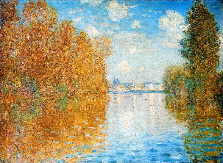 Quel peintre impressionniste a réalisé  effet d'automne à Argenteuil  ?