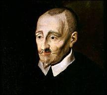 """Qui a dicté, sur son lit de mort, en fin d'année 1585 : """"Je n'ai plus que les os. """" ? C'est le début du poème intitulé """"Derniers vers""""."""