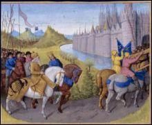 C'est au Moyen Age que l'on appelait  cheval ...