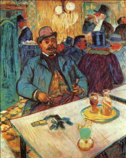 Nous terminerons avec une note d'humour : Comment se nomme ce buveur de bière représenté par Toulouse Lautrec ?