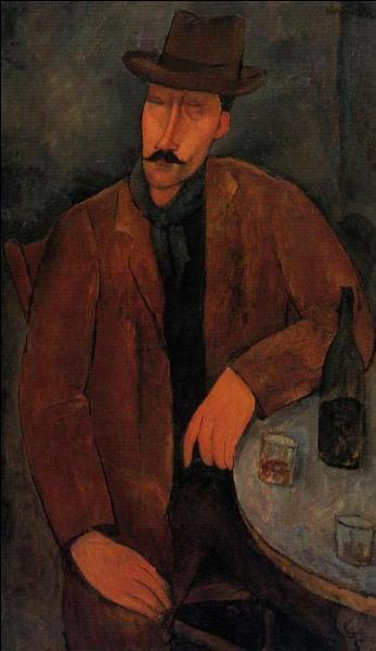 Qu'y a-t-il dans le verre de Modigliani ?