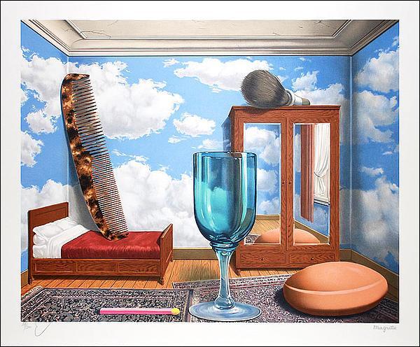 Quel est le titre ce cette toile de Magritte ?
