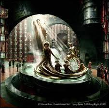 Comment s'appelle la fontaine du ministère de la Magie ?