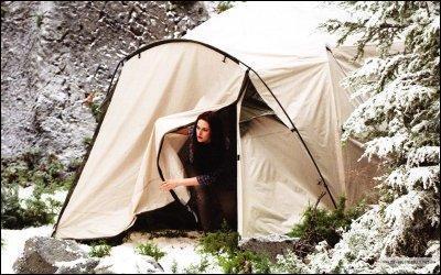 Comment Edward surnomme-t-il Jacob dans la tente quand il neige ?